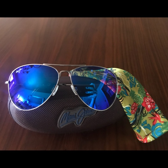 8e930bbc0f1 Maui Jim Mavericks Aviators. M 5a95ab9bc9fcdf793a1222e4. Other Accessories  you may like.  275 Maui Jim Maile MJ294-02 Polarized Sunglasses